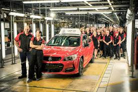 Last-ever Australian-made Holden Commodore rolls off production ...