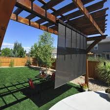 Image result for Outdoor shade blinds