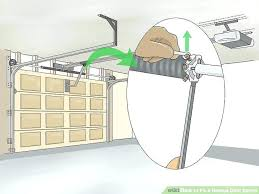 replacing garage door spring broken garage door spring fabulous fix garage door spring a step 2