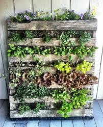 diy ideas how to build a vertical herb garden from a wooden pallet