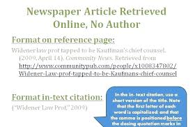 news article format apa format reference online newspaper article juzdeco com
