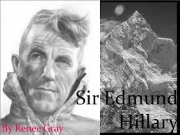 「Sir Edmund Percival Hillary,」の画像検索結果