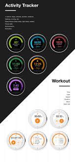 Smartwatch App Design Alcatel Watch Ux On Behance Watch Smart Watch Dashboard