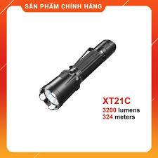 SIÊU SÁNG] [BH 5 NĂM] Đèn pin và đèn sạc KLARUS XT21C tác chiến nhanh sáng  3200 lumen xa 324m LED Luminus sạc type-C