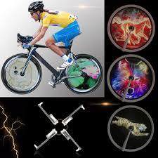 LIXADA <b>Bicycle Lights</b> 256/416pcs LED DIY <b>Colorful</b> Bike Spoke ...