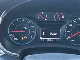 2015 Malibu Check Engine Light