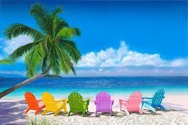 adirondack chairs on beach. Brilliant Chairs Beach Wall Decor Ocean Canvas Art Large Painting Chairs  Adirondack Chair Painting Gallery Wrap And On K