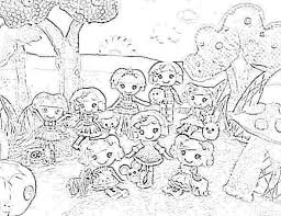 Small Picture Lalaloopsy coloring pages coloring pages for girls online