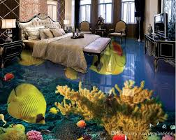 Custom 3d Flooring Tropical Fish Bedroom Wallpaper 3d Flooring Pvc Water  Self Adhesive 3d Flooring 3d Floor Tiles 3d Floor Murals Online With  $72.14/Square ...