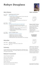 Marketing And Pr Intern Resume samples