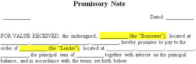 Promissory Note Template For Family Member Promissory Note Free Promissory Note Template Sample Pdf