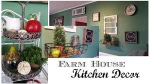 Kitchen Home My Farmhouse Kitchen Home Decor Youtube