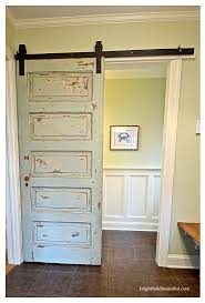 sliding barn doors. Barn Door Hardware Sliding Doors Bright Bold And Beautiful Y