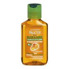 Garnier Fructis Sleek Shine Zero Smoothing Light Spray Garnier Fructis Sleek Shine Moroccan Sleek Oil Treatment 3 75 Oz Pack Of 4
