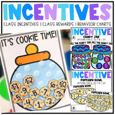 Class Incentive Class Reward Behavior Chart Ultimate Bundle
