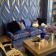 blue and gold rooms and decor 50 favorites for friday interior