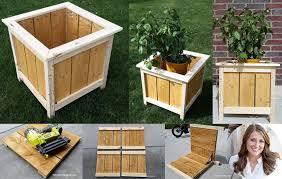 wooden planter plans window box planters indoor planters cedar planters less