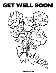 Small Picture To print this Get well soon coloring pages that shows Hello