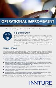 operational improvement capability uplift innture 29 sep operational improvement capability uplift