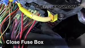 interior fuse box location 1997 2005 buick park avenue 1998 interior fuse box location 1997 2005 buick park avenue 1998 buick park avenue 3 8l v6