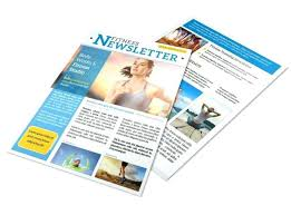 Wellness Newsletter Templates Free Newsletter Templates You Can Print Or Email As What Is