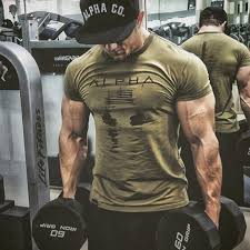 <b>2019 New</b> Brand <b>Clothing</b> Gyms <b>Tight</b> Cotton T shirt Mens Fitness T ...