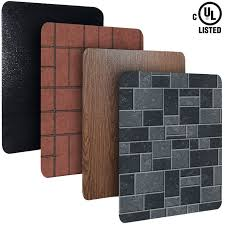 wood stove accessories heat shields imperial stove boards protect walls and floors from the intense