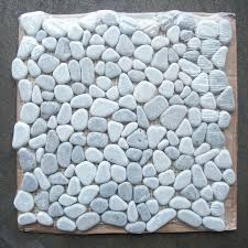 river rock tile sheets