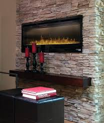 electric stone fireplace heater