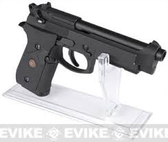 Handgun Display Stand Matrix Clear Deluxe Pistol Professional Display Stand for Airsoft 4