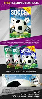 Flyer Template Free Download Word Soccer Flyertete2tes Psd Word Eps Vector Ai Camp Free