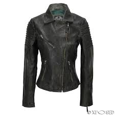 womens vintage slim fitted soft real leather las