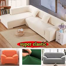 sofa cover elastic for living room sectional slipcovers chair l shaped armchairs universal modern stretch furniture cover in sofa cover from home garden
