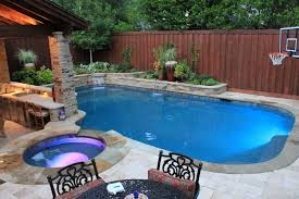 inground pools with waterfalls and hot tubs. Inground Pool With Basketball Pools Waterfalls And Hot Tubs