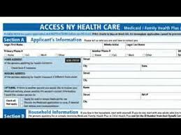 nys medicaid application form medicaid chronic care application process video youtube