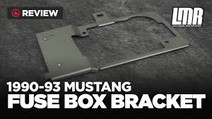 1990 1993 fox body mustang 5 0resto fuse box bracket review 1990 1993 fox body mustang 5 0resto fuse box bracket review