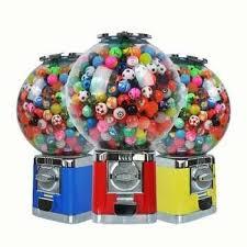 Ball Vending Machine New 48 Capsule ToysCandyBouncy Ball Vending Machine