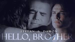 The Vampire Diaries 8x16 FINALE LAST SCENE Damon and Elena are.