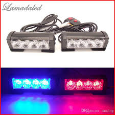 Strobe Lights For Cars Extraordinary 60x60 Led Police Strobe Lights Vehicle Strobe Light Car Warning Lights