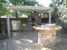 tall fire pit metal outdoor extended grill