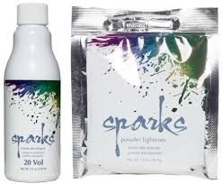 Sparks Powder Lightener 20 Volume Creme