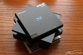 pioneer bdr xd05b. all the external blu-ray drives we tested, from top: pioneer xd05, bdr xd05b