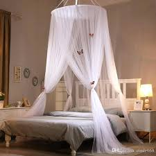 Beds ~ Adult Canopy Beds Round Lace Mosquito Net With Butterfly ...