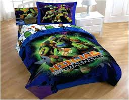 teenage mutant ninja turtle bed set turtles queen twin bedding comforter and sheet tmnt