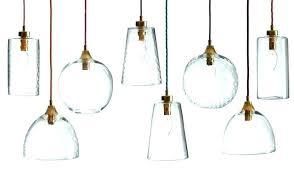 mini pendant lights art glass pendant lighting shades only blue 4 mini pendant light shades only