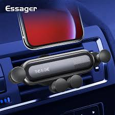<b>Essager Gravity Car</b> Phone Holder for iPhone Xiaomi mi Air Vent ...