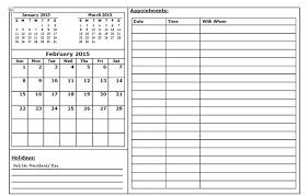 Appointment Calendar 2015 40 Sample 2015 Calendar Templates Designs Free Free Premium