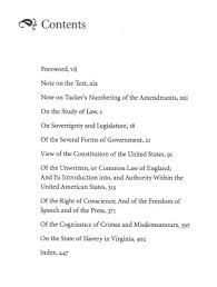 view of the constitution of the united states selected  original table of contents or first page