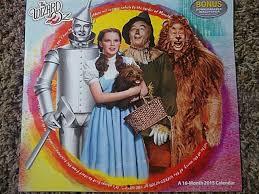 Calendar Wizard 2015 Wizard Of Oz 2015 Calendar Ebay
