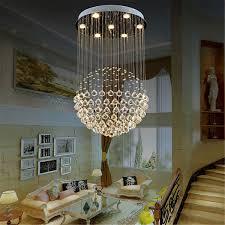 modern crystal pendant light ceiling lamp chandelier living